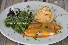 Filetes de Peixe Galo com Molho Cremoso de Tomate