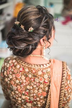 Wedding Hairstyles For Women, Bridal Hairstyle Indian Wedding, Engagement Hairstyles, Pakistani Bridal Makeup, Bridal Hair Buns, Bridal Hairdo, Braided Hairstyles For Wedding, Braided Hairstyles Tutorials, Bride Hairstyles