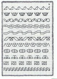 Graph Paper Drawings, Graph Paper Art, Blackwork Patterns, Blackwork Embroidery, Zentangle, Aluminum Foil Art, Graphing Worksheets, Mandala Art Lesson, Hand Lettering Alphabet