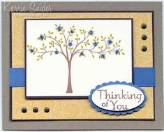 Beaded Tree by whats_her_name - Cards and Paper Crafts at Splitcoaststampers