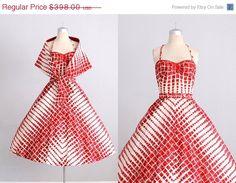 vintage 1950s dress   3 piece dress  50s sun di PickledVintage, $298.50