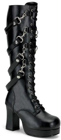 Gothika-209, Demonia, Punk Shoes, Punk Rock Shoes, Creepers, Demonia Shoes…