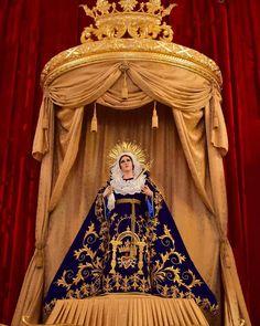 """""""Tu eres toda hermosa Oh Madre del Señor.. Tu eres de Dios Gloria la obra de su amor"""" Velacion C.I Santisima virgen de Dolores Santuario Arquidiocesano del Señor San José  #MesDeMaria #CucuruchoEnGuatemala"""