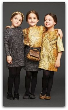 Dolce&Gabbana Winter 2014 Kids collection AD