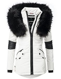 Navahoo Winterjacke Nirvana edle Steppjacke m. Nirvana, Winter Jackets Women, Mode Online, Ootd Fashion, Blazer Jacket, Canada Goose Jackets, Outfit, Fur Coat, Lady