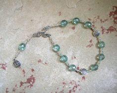Danu Pocket Prayer Beads: Irish Celtic by HearthfireHandworks
