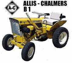 Allis Chalmers B1 Garden Tractor Mouse Pad | eBay Types Of Lawn, Lawn Tractors, Allis Chalmers Tractors, Tractor Pulling, Classic Tractor, Lawn Equipment, Lawn Mower, Vintage Ads, Monster Trucks