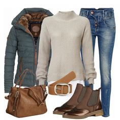 Herbst-Outfits: CozyWeekdayLook bei FrauenOutfits.de