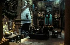 Harry Potter -Slytherin Common Room | Zwadderich Leerlingenkamer