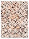 Folklore Hand-Tufted Wool Moroccan Rug by Loloi Rugs | ivory / spice | Gilt