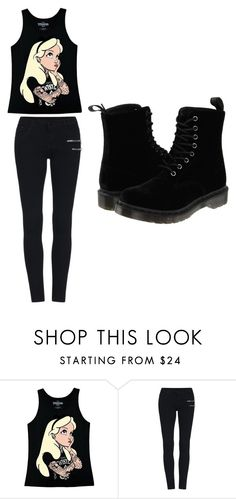 """Untitled #199"" by sierrapalmer10 on Polyvore featuring Disney and Dr. Martens"
