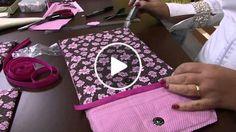 Claudia Ferreira - Fazendo uma capa para tablet
