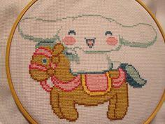 my cinnamoroll cross stitch | Flickr - Photo Sharing!