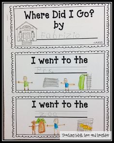 Teaching With Love and Laughter: Sight Word / CVC Word Sentence Booklets