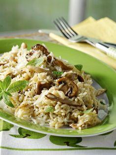 manitaropilafo Greek Recipes, Vegan Recipes, Spanish Rice, Food And Drink, Cooking, Ethnic Recipes, Author, Foods, Kitchen