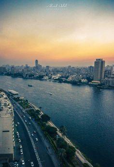 #Cairo  #Sunset