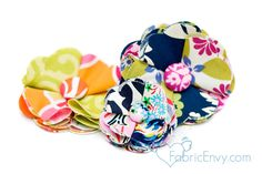 Great DIY Flower and Headband Tutorial from my blog sponsor, Fabric Envy.