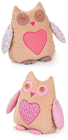 Owl Doorstop - Ideas on Foter Owl Sewing, Sewing Toys, Sewing Crafts, Sewing Projects, Owl Doorstop, Doorstop Pattern, Owl Crafts, Kids Crafts, Craft Stalls