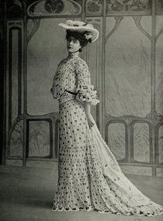 1903, Les Modes (Paris) Garden party dress by Panem