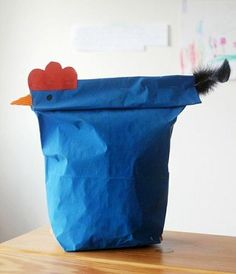 Chicken wrapping - Recyclart