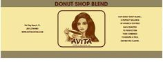 Avita Don't Shop Blend Coffee.