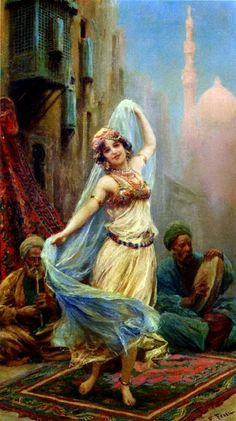 Fabio Fabbi [1861-1906] one of the most famous and commercially successful Italian artists of the Orientalists.  Fabio Fabbi was born in Bologna, Italy in 1861. As a young man, he enrolled at the Academia Di Belle Art in Florence and studied sculpture and painting in the 1880s, winning prizes in both categories. After his studies, he traveled to Paris, Munich, and finally Egypt. Upon his return to Italy, he dedicated himself solely to painting and was honored with the distinction of…