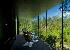 Ex Machina House (Juvet Landscape Hotel by Jensen & Skodvin Architects)