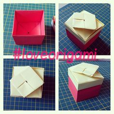 Two Pieces Square Box.
