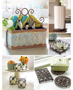Accessorize the kitchen with Willow House.... www.denisecosgrove.willowhouse.com