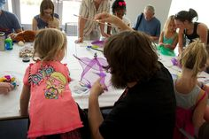 Family Day: Puppetry Party. July 18, 2015