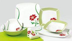 Porzellan Tafelservice Essservice 28tlg Angela TK-982 Neu Ikea, Plates, Ebay, Tableware, Japanese Ceramics, Ceramic Tableware, Home, Game, Cooking