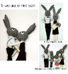 We (h)are family! http://knuffelsalacarteblog.blogspot.nl/2014/01/we-hare-family.html