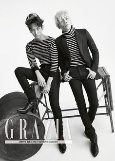 SHINee for Grazia: Men's Special August Issue - OMONA THEY DIDN'T! Endless charms, endless possibilities ♥