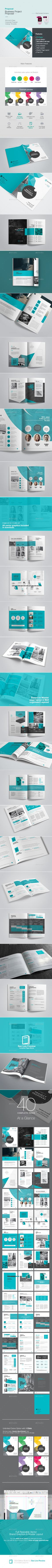 Project Proposal by GraphicArtist  40 pages professional Minimal