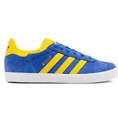 5202fb6d25518 Chaussure basket adidas gazelle pour Homme Femme   couleur  Bleu   B-KRZS
