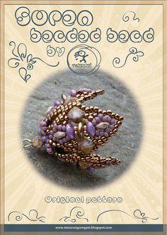 Soren  Beaded Bead Pattern with twin beads   by beadsbyvezsuzsi
