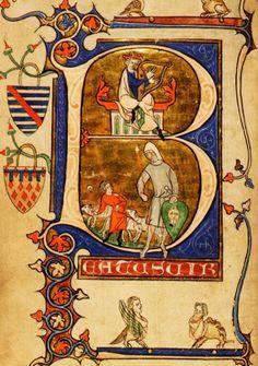 Archives et Bibliothèque de la Cathédrale de Tournai • B.C.T. A 17 • Psautier…