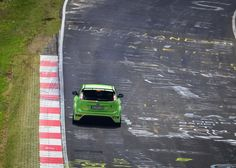Green - Ultimate Green - Ford Focus RS on Nurburgring track #Nürburgring #Nordschleife