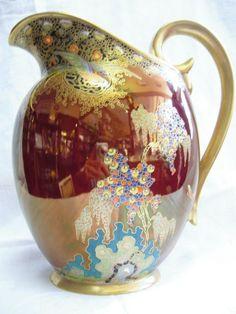 Carltonware jug Ceramic Jars, Ceramic Pottery, Antique China, Vintage China, Carafe, Decanter, Carlton Ware, Antique Perfume Bottles, Tea Service