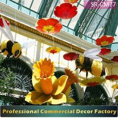 Source Customize commercial shopping mall holiday decor with umbrella decoration for all seasons on m.alibaba.com