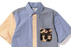 Bape Crazy Gingham Check Shirt