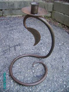 Wrought Iron Vintage Candleholder                                                                                                                                                                                 More