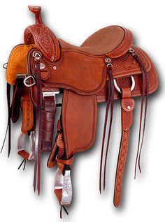 Mounted Shooting Saddle | Martin Saddlery