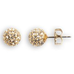 Nadri Crystal Pavé Fireball Earrings