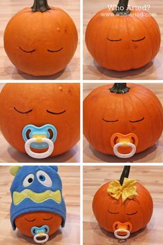 How To Make A Pumpkin Baby diy craft halloween crafts how to tutorials pumpkins halloween decorations halloween crafts halloween diy halloween decor pumpkin ...  sc 1 st  Pinterest & 150 Pumpkin Decorating Ideas - Fun Pumpkin Designs for Halloween ...