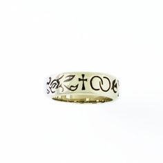 14Kt Gold Ladies' Cross Christian Ring - Wedding Symbols on SonGear.com - Christian Shirts, Jewelry