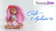 Fimora Art / Fantasy Fimo Figuren / Craft Update / Polymerclay Creations / Charm Update ... besuche mich auf ... Facebook - https://de-de.facebook.com/Fimora...