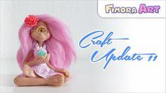 Fimora Art / Fantasy Fimo Figuren / Craft Update / Polymerclay Creations / Charm Update ... besuche mich auf ... Facebook - https://de-de.facebook.com/Fimora...