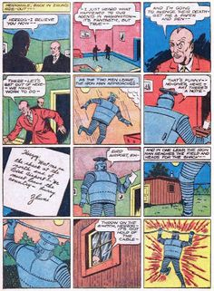 Golden Age Heroes: BOZO THE ROBOT