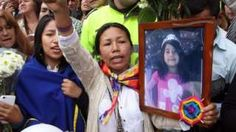 Colombia outrage over killing of young girl